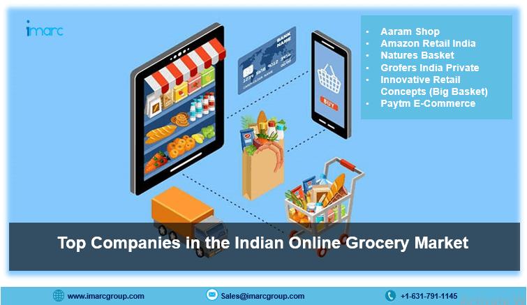 Tendances du marché indien de l'épicerie en ligne, taille, part et prévisions 2021-2026