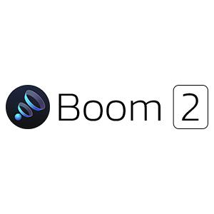 La dernière version de Boom 2 offre un contrôle audio inégalé sur macOS; Place la barre sur la sortie stéréo